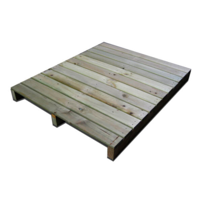 Losetas de madera para pasarela